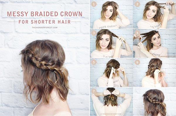 Peinados faciles para cabello largo mojado