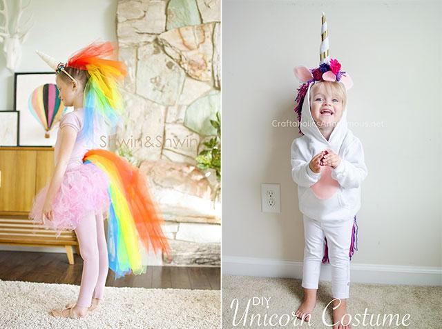 disfraces carnaval unicornio diy