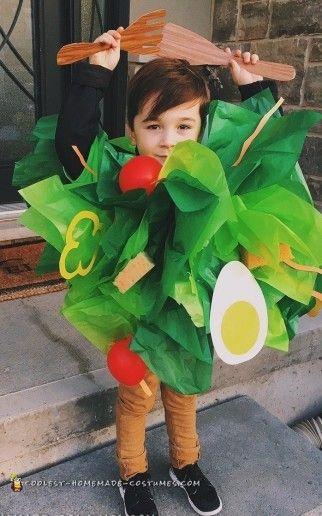 disfraz carnaval diy ensalada niño