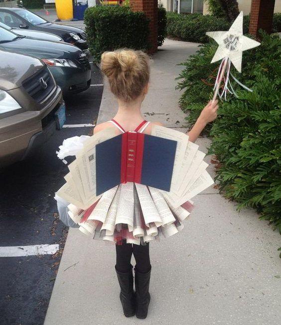 hada de los libros halloween carnaval