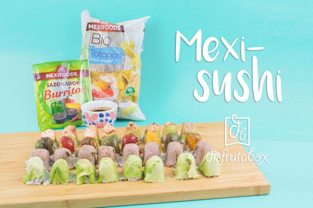 Descubre cómo hacer sushi de forma sencilla con nuestra receta Mexi-Sushi