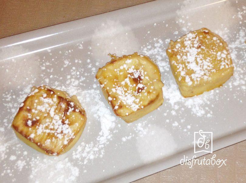 Receta de Leche Frita con Horchata