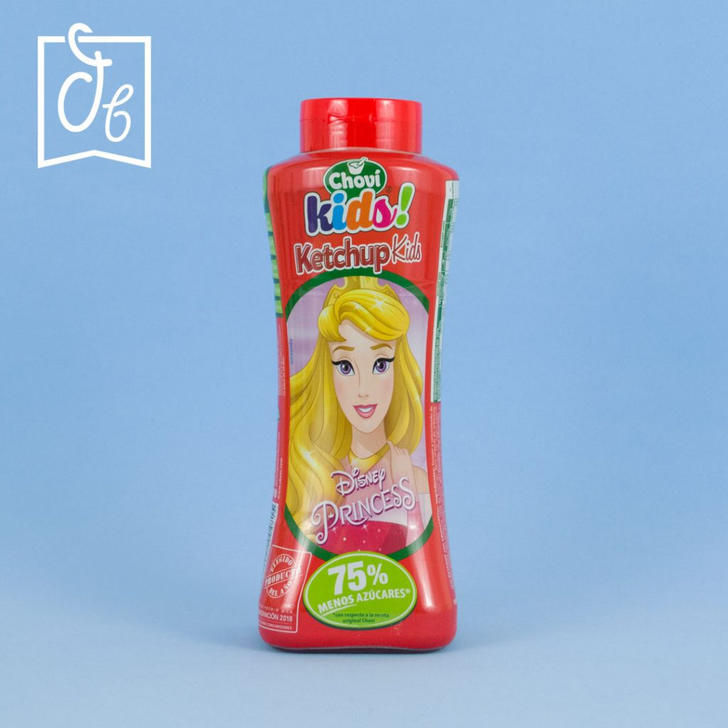 Salsa Ketchup Chovi Kids DisfrutaBox