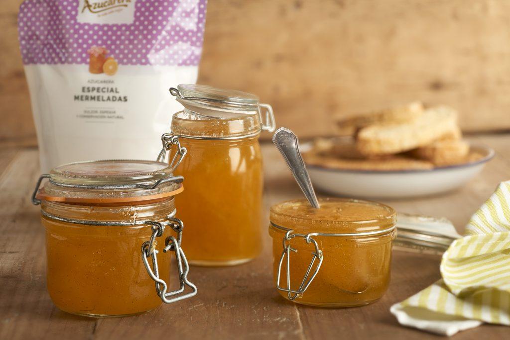 AZUCARERA receta de Mermelada de manzana con vainilla natural