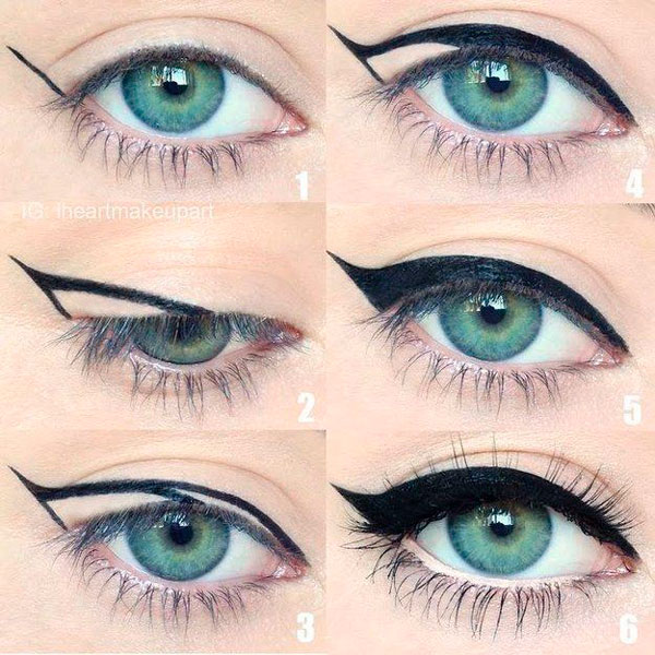 Delineado de ojo Cat Eye Eyeliner