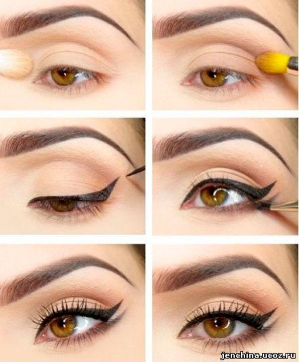 Delineado de ojo Doble Double Eyeliner