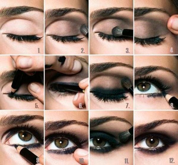 Delineado de ojo Ahumado Smocked Eyeliner