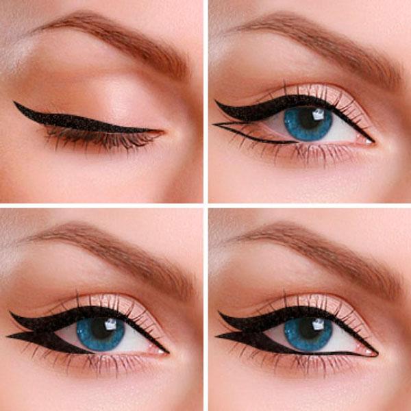 Delineado de ojo Cola de Pez Eyeliner