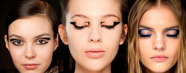Delineado de ojo Geometrico Eyeliner