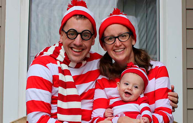 14 disfraces de Halloween para hacerlo en familia