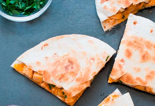 recetas de quesadillas fáciles y saludables