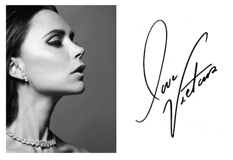 Victoria Beckham y su firma
