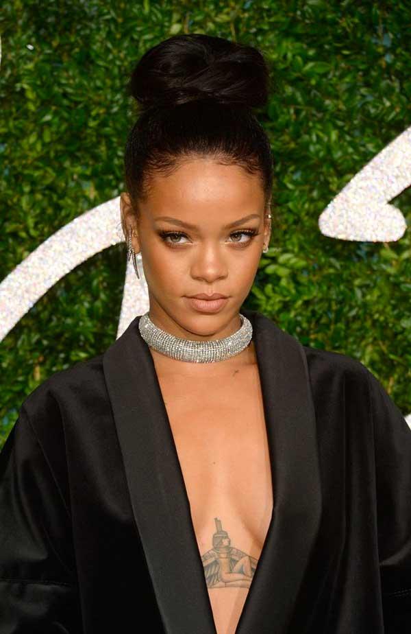 tatuajes de famoso Rihanna
