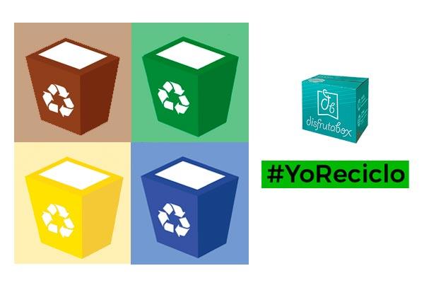 Tutorial de cómo reciclar correctamente tu DisfrutaBox