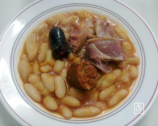 receta facil de fabada asturiana
