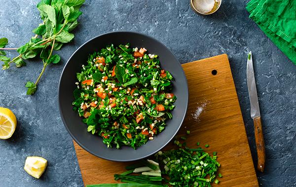 receta de ensalada taboule facil