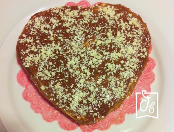 receta facil de tarta de queso con dulce de leche
