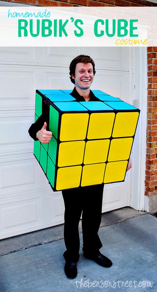Disfraz Costume DIY Casero Cubo Rubik