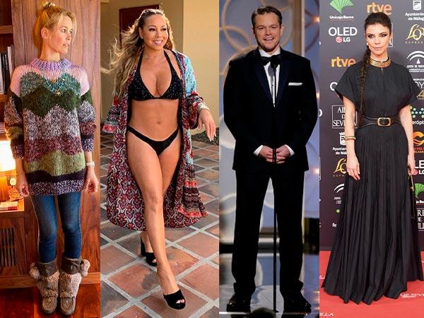 Algunos de los famosos que cumplen 50 años en 2020 son Claudia Schiffer, Mariah Carey, Luis Miguel o Maribel Verdú.