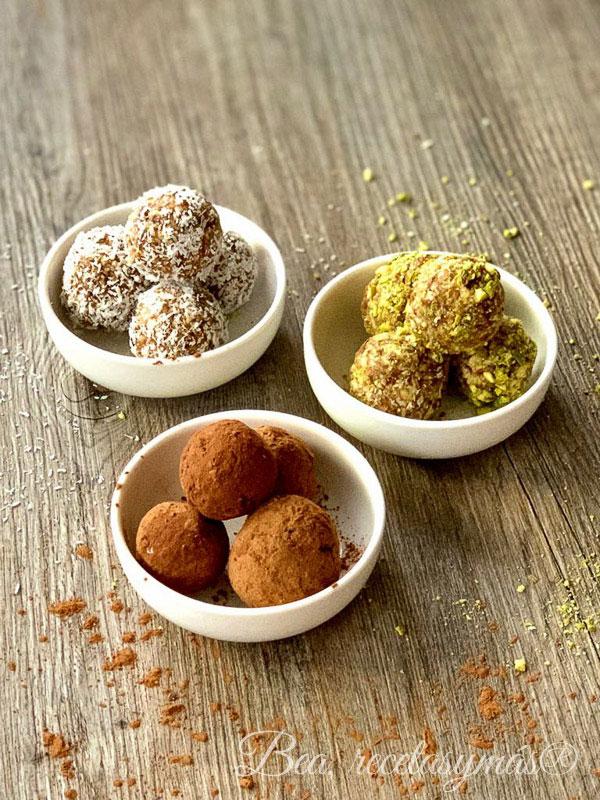 receta de energy balls bolitas energeticas snack saludable vegano