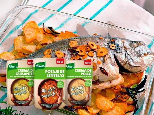 Recetas saludables para acompañar Mi Plato Completo de Knorr