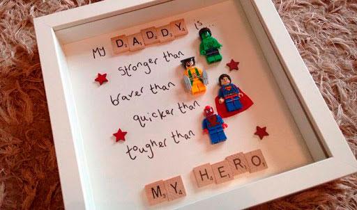 regalo especial para mi superheroe diy