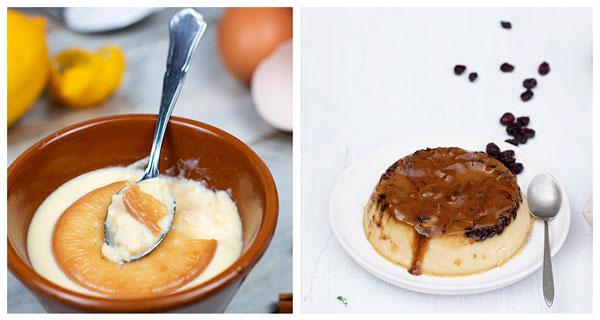 Recetas caseras de Natillas y Pudding de Dos Leches
