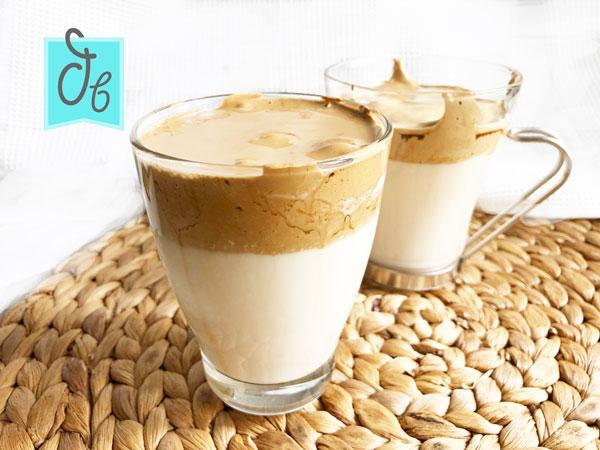 fluffy coffee bebida de la cuarentena