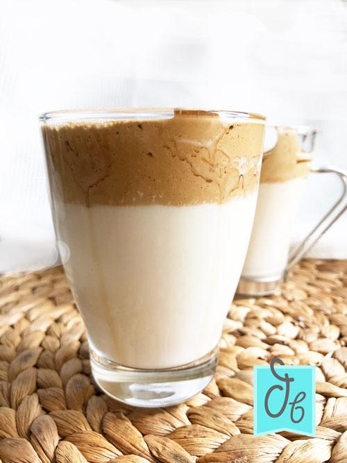 receta facil de cafe dalgona