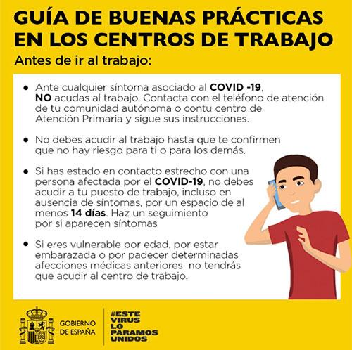 Guia de buenas practicas en los centros del trabajo