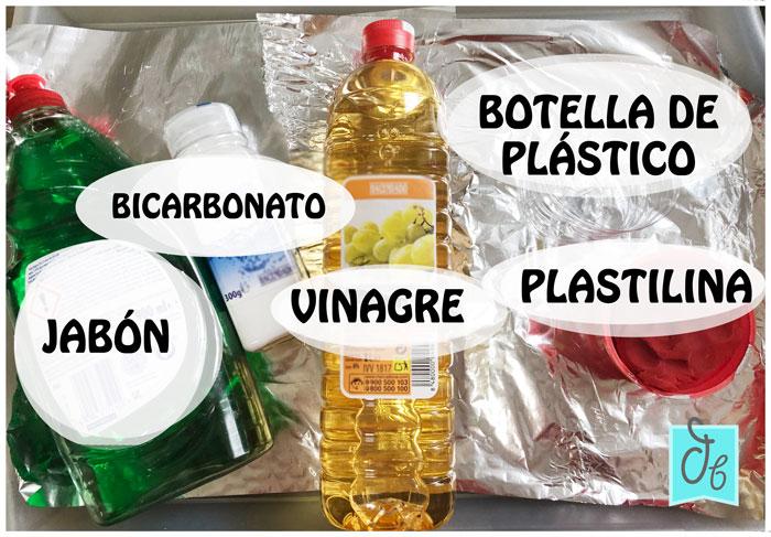 materiales que necesitas para tu experimento