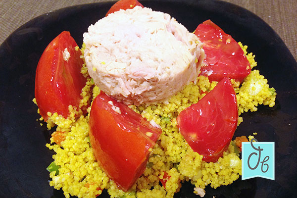 receta de tabule con tomate