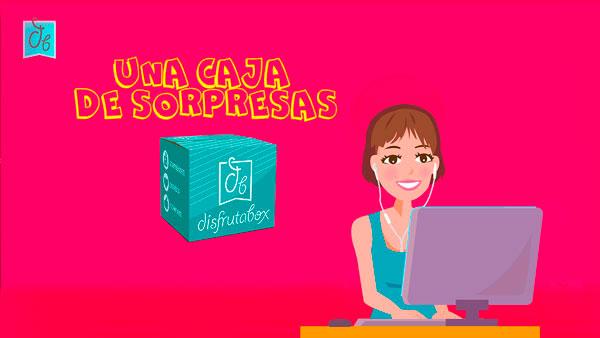 webserie de humor Una Caja de Sorpresas DisfrutaBox
