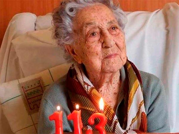 anciana que superó el coronavirus