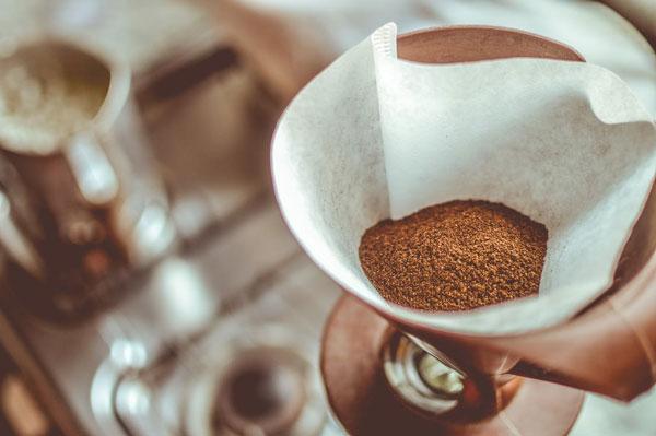 cafe sin cafetera con filtro