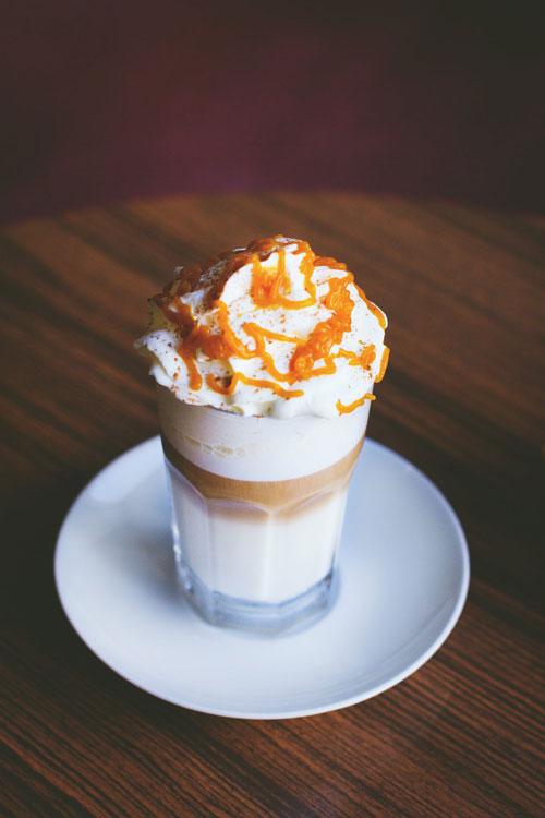 hacer café latte macchiato en casa