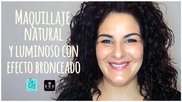 tutorial de maquillaje natural luminoso y elegante efecto bronceado con iluminador