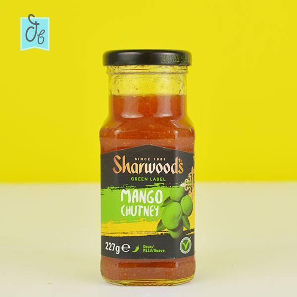 mango Chutney de Sharwood's