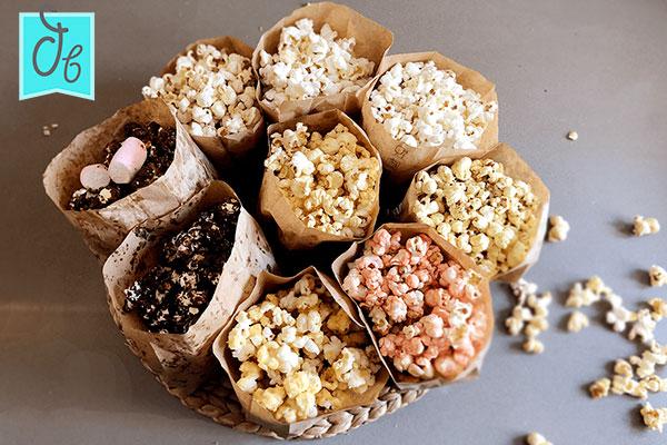 cómo hacer palomitas caseras de sabores en sartén o microondas