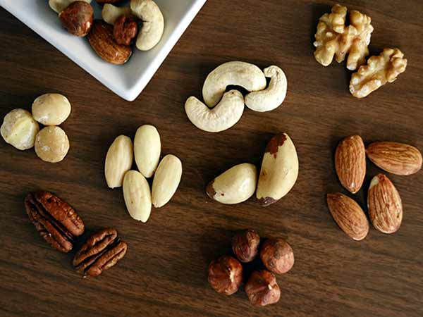 Los frutos secos son uno de los alimentos con más proteínas vegetales. Pexels