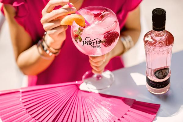 gin tonic Puerto de Indias Strawberry