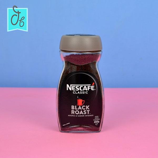 Nuevo Nescafé Black Roast