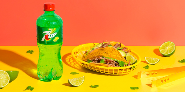 receta de tacos carnitas 7UP