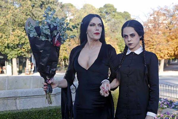 Difraz Halloween 2020 Familia Addams
