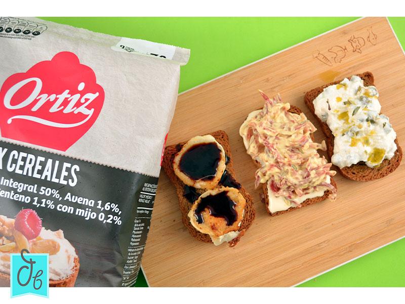 recetas de tostas con queso y pan Ortiz