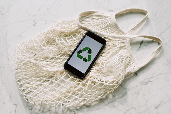 La selección de basura perfecta bolsas de algodón