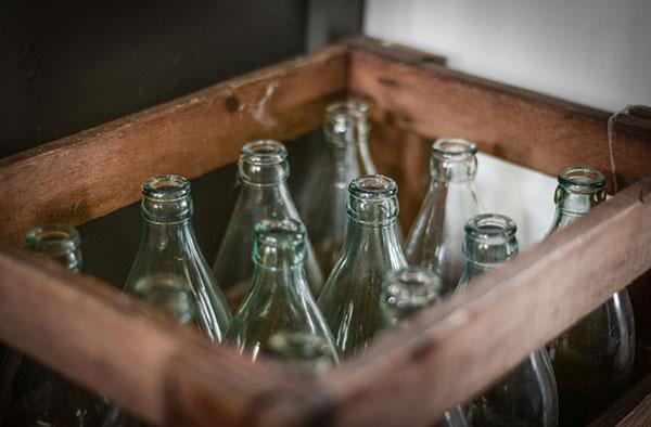 botellas de cristal 10 mandamientos reciclaje