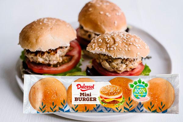mini Burguer Dulcesol hamburguesitas de pavo