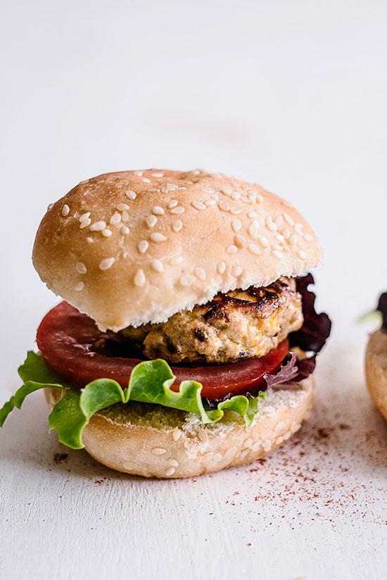 receta de mini hamburguesas de pavo Dulcesol