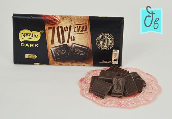 Nestlé Dark 70% en DisfrutaBox Mañana